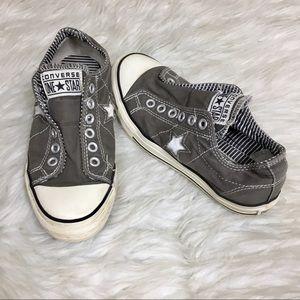 Converse Grey Star Low Top Sneakers
